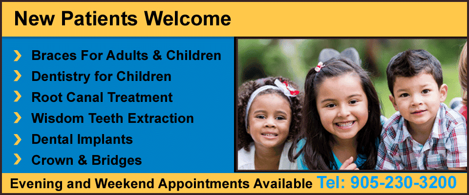 Kids Dentist in Brampton